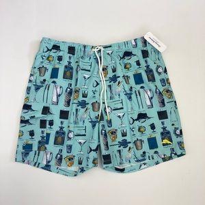 Tommy Bahama Naples Board Shorts Martini Aqua